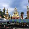 【バンコク週末トリップ②】カラフルな仏像に会えるワットクンチャン(Wat Khun Chan)