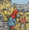タロットカード:小アルカナ カップの6