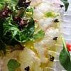 真鯛のカルパッチョ〜ドイツに戻りました🇩🇪パン屋さんで朝食