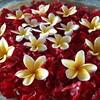 バリ島・水盤の花にも癒されるスパ。