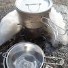 大島園の茶漉しです