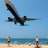 飛行機ビューポイント@プーケット・マイカオビーチ 暑いけど面白い!