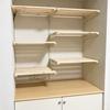 【初心者DIY】収納棚&手作りカーテン!空間を有効活用しよう!