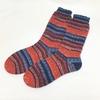 靴下のかかと【ショートロウのかかと】の編み方