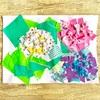 雨の日のお家遊びに♪ 折り紙で「あじさいのちぎり絵」を作りました|6月の工作*2歳
