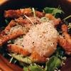 温泉卵とカリカリベーコンの簡単サラダをパンチェッタで作る!