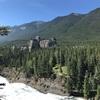 アメリカ横断記 Jul'19-15 Banff 国立公園 と カナディアン・ロッキー越え