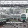 《JR東日本》【写真館72】埼京線E233系7000番台が相鉄線内で並ぶ
