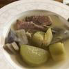 塩麹豚さんでプティサレ 根菜ポトフ