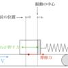 平成26年東京農工大学編入試験問題解答 力学 ベルトコンベア上の振動