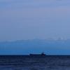 珠洲、能登からも立山連峰が見えます