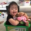 甘えん坊と可愛い影(3歳7カ月)