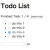 【AngularJS】ToDo List