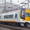 近鉄南大阪線の正月ダイヤを撮る。