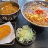 木更津 ゆで太郎 朝食セット(カレー丼)