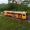 DAHON Routeで朝チャリ。タイの国鉄も線路メンテするんだ。