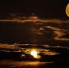 丸い天体 月と木星らしき