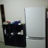 朝走る/和室に冷蔵庫