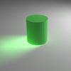 Blender オブジェクトにできる影を編集する方法