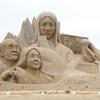 思わず写真におさめた砂像たち@吹上浜砂の祭典(南さつま市金峰町)