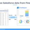 FineReportでSalesforce内のデータをビジュアライズしてみた