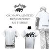 ポルタアンドゲート/EYEDYコラボ=OKINAWAロゴTシャツ=沖縄限定販売