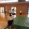 6年生:体育 走り高跳び+ドッジボール
