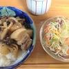 梅酒煮豚バラ丼