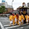 生國魂神社の夏祭り『御鳳輦』渡御列
