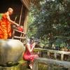 【カンボジア女子一人旅】お寺での厄払いのは必要?(゜o゜)