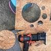 電動ジグソーで板を丸く切り抜く方法