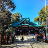 多摩川浅間神社へ