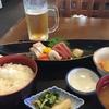 死海の湯と刺身とホッケと高原ビールの日