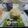 1/8 チキンクリスプマフィンセット+アップルパイ450