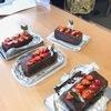 手作りチョコレートケーキでXmas♪