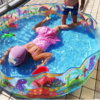 おすすめしたい家用プール!出すのもしまうのも簡単な膨らまさないプール 今年もたっぷり活躍しそうです♡