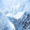真っ白けの美瑛町の朝~白ひげの滝・青い池【11月30日撮影】