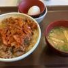 【すき家】ナイスバランスのキムチ牛丼