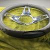 自動車内装修理 #193 日産/ダットサンピックアップ 革ハンドル擦れ破れ