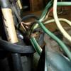 C111 テール周りの配線補修