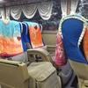 タウンジーヤンゴン間のバス Lumbini