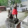 今益稲荷神社のお狐さま