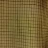 着物生地(212)格子模様織り出し手織り節紬