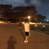山中湖駅伝の直前練習