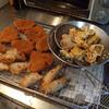 幸運な病のレシピ( 1658 )昼 :トンカツ、パテから作った揚げ餃子、レンコン・カボチャ揚げ