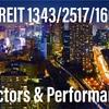 Jリートのインデックス3種、セクター構成とパフォーマンスを比較!