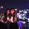 上海のビルの屋上でSNH48西瓜ポートレート撮影(2)
