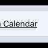 Show in Calendar