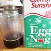 クリスマスになったのでエッグノッグをがぶ飲みでゲフー