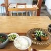 古い民家を改装した素敵なカフェでランチをいただきました